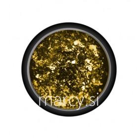 FLAKES MIRROR CHROME-GOLD
