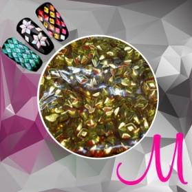 3D DIAMOND-GOLD