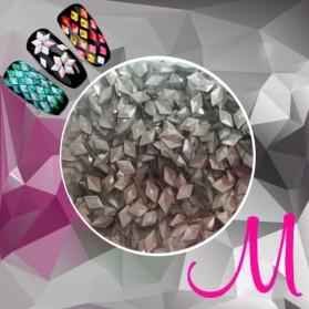 3D DIAMOND-MATT SILVER