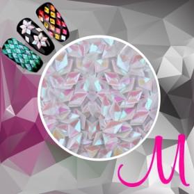 3D DIAMOND-HOLOGRAM WHITE