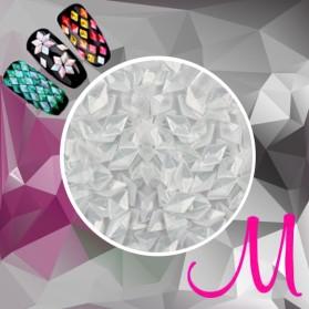 3D DIAMOND-WHITE