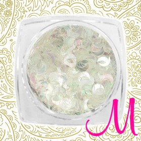 METAL MOON-WHITE MULTICOLOR