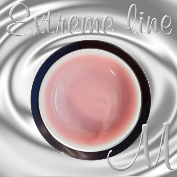 COVER NATURE ROSE-15ml- gradilni UV/LED gel -EXTREME LINE