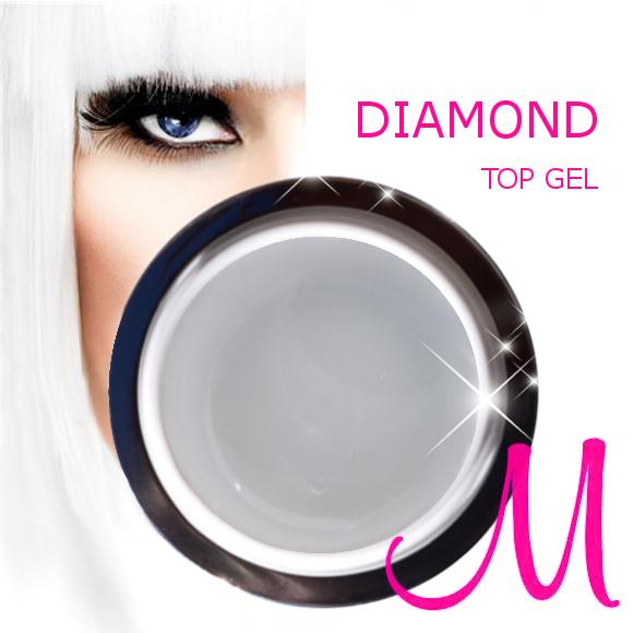 DIAMOND TOP SHINE-30 ml-zaključni UV/LED top gel