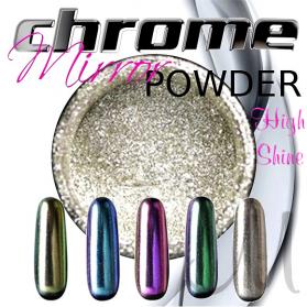 CHROME MIRROR POWDER HIGH SHINE