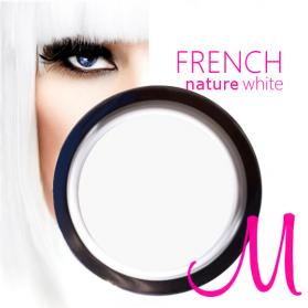 FRENCH GEL NATURE WHITE 15ML