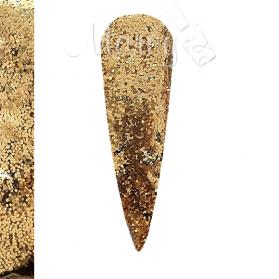 GLITTER MINI HEXAGON GOLD