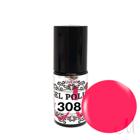 308.UV/LED GEL POLISH-NEON PINK