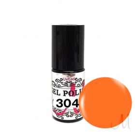 304.UV/LED GEL POLISH-CRAZY MANDARINE