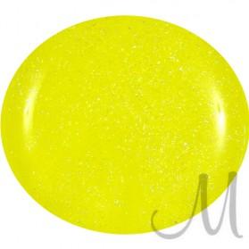 398.UV/LED GEL POLISH-NEON YELLOW GLITTER